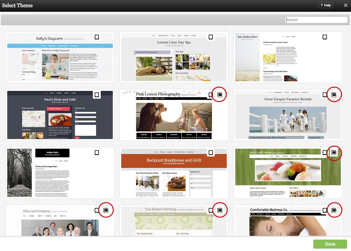 choosing a new theme website builder